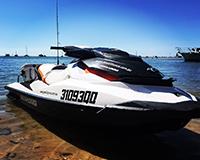 Seadoo GTI ready for action